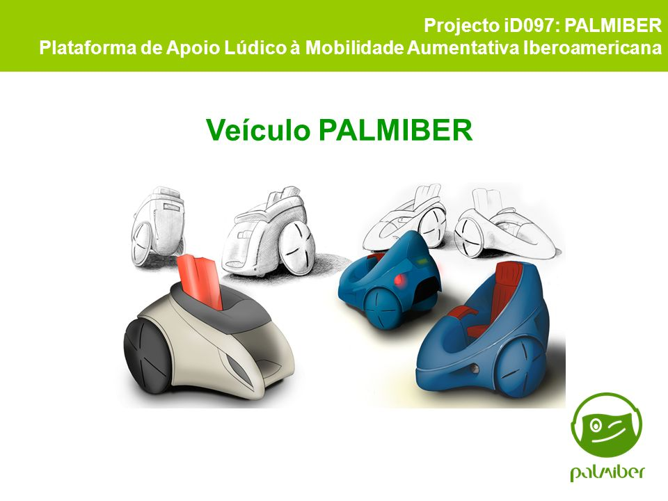 Veículo PALMIBER Projecto iD097: PALMIBER