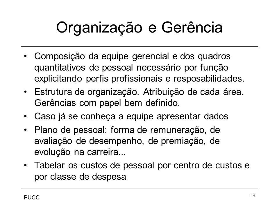 Organização e Gerência