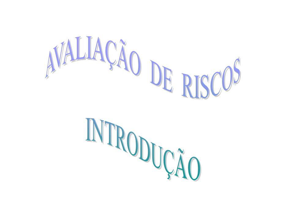 AVALIAÇÃO DE RISCOS INTRODUÇÃO
