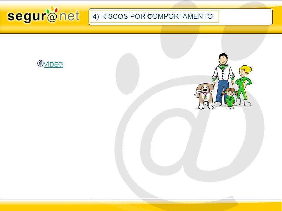 4) RISCOS POR COMPORTAMENTO