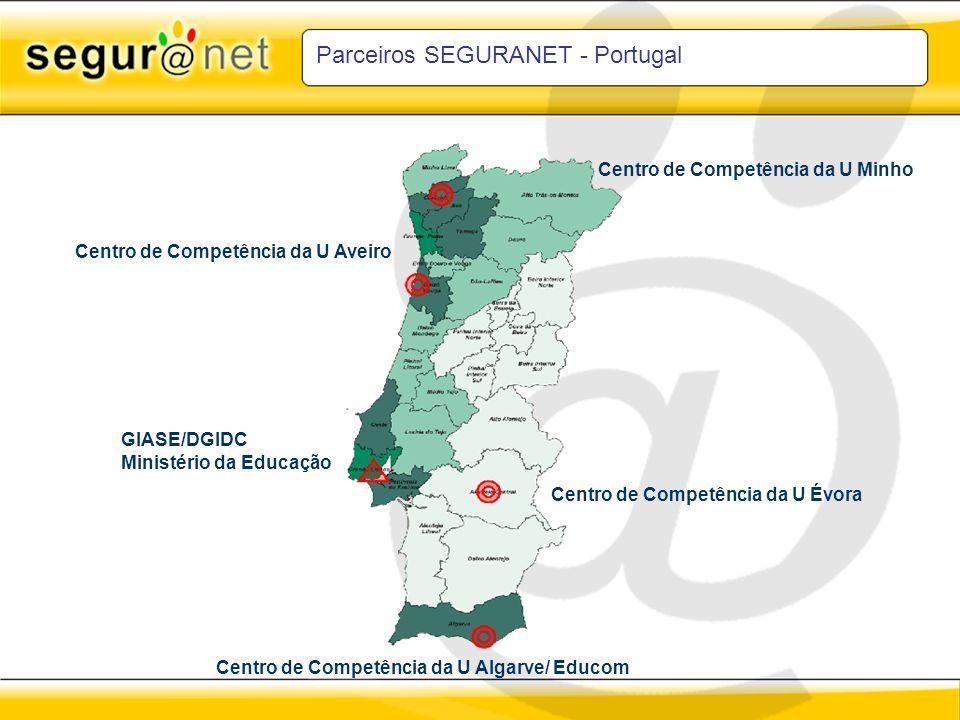 Parceiros SEGURANET - Portugal