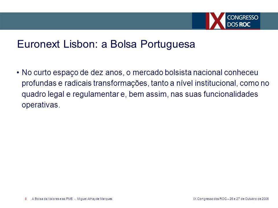 Euronext Lisbon: a Bolsa Portuguesa