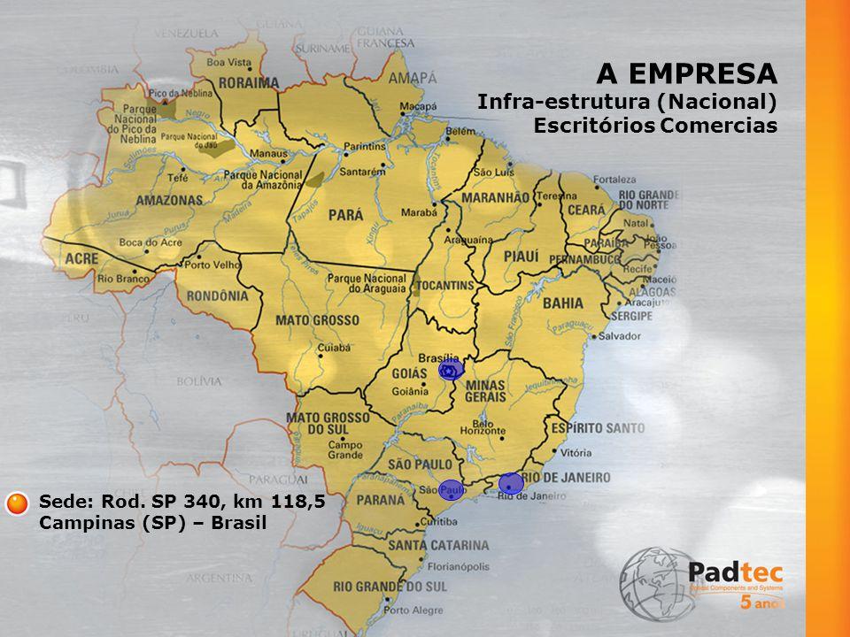 A EMPRESA Infra-estrutura (Nacional) Escritórios Comercias