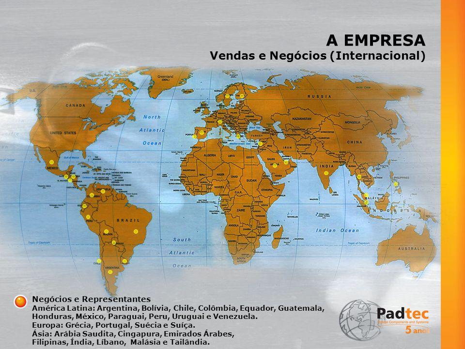 A EMPRESA Vendas e Negócios (Internacional) Negócios e Representantes