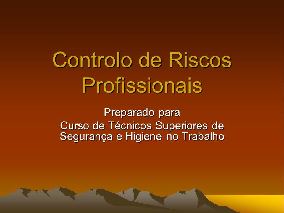 Controlo de Riscos Profissionais