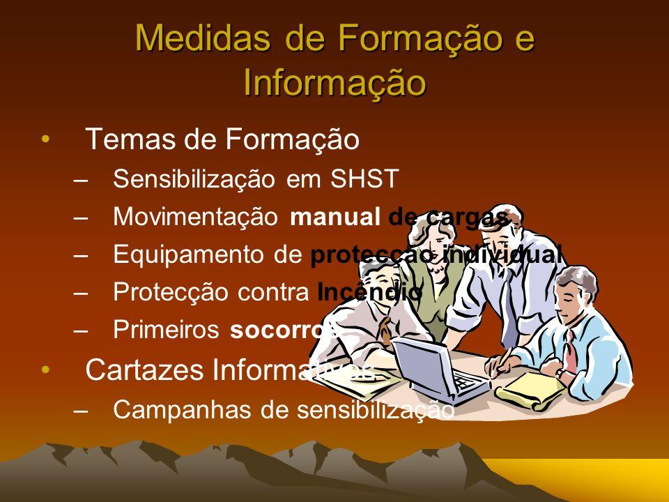 Medidas de Formação e Informação