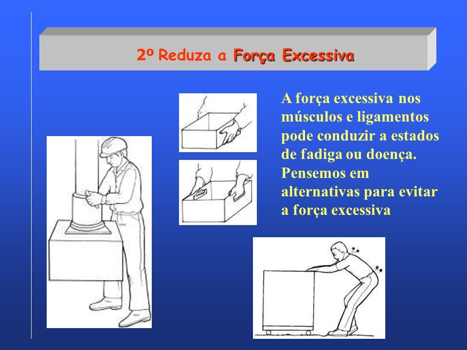 2º Reduza a Força Excessiva