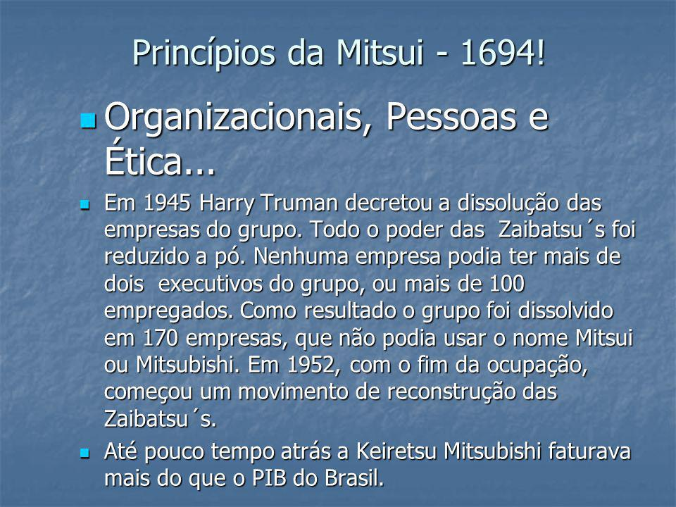 Organizacionais, Pessoas e Ética...