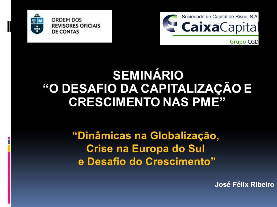 SEMINÁRIO O DESAFIO DA CAPITALIZAÇÃO E CRESCIMENTO NAS PME