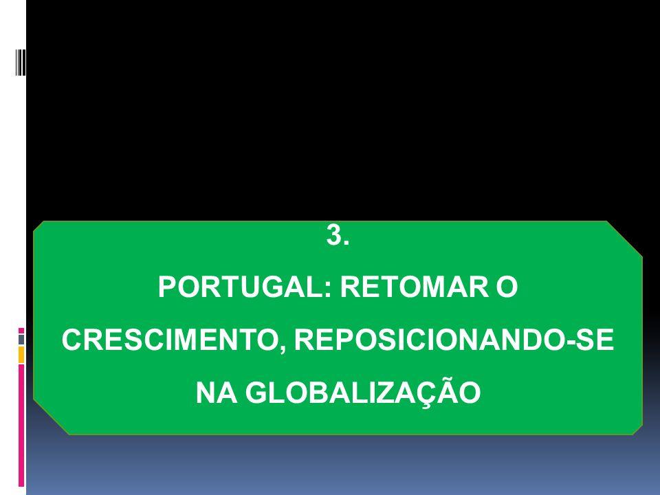 PORTUGAL: RETOMAR O CRESCIMENTO, REPOSICIONANDO-SE NA GLOBALIZAÇÃO