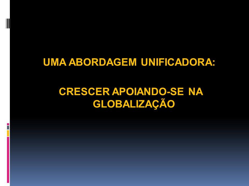 UMA ABORDAGEM UNIFICADORA: CRESCER APOIANDO-SE NA GLOBALIZAÇÃO