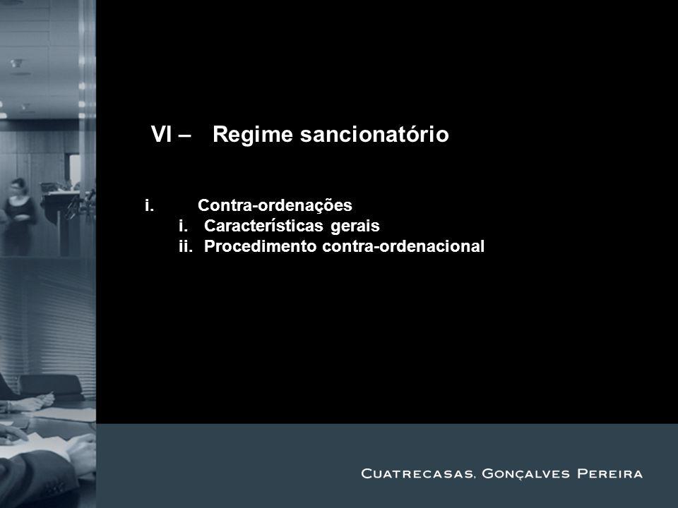 IVI – Regime sancionatório Title Subtitle