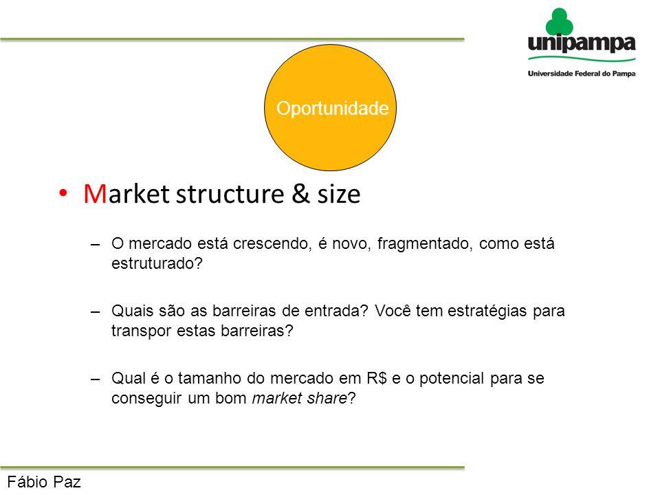 Market structure & size