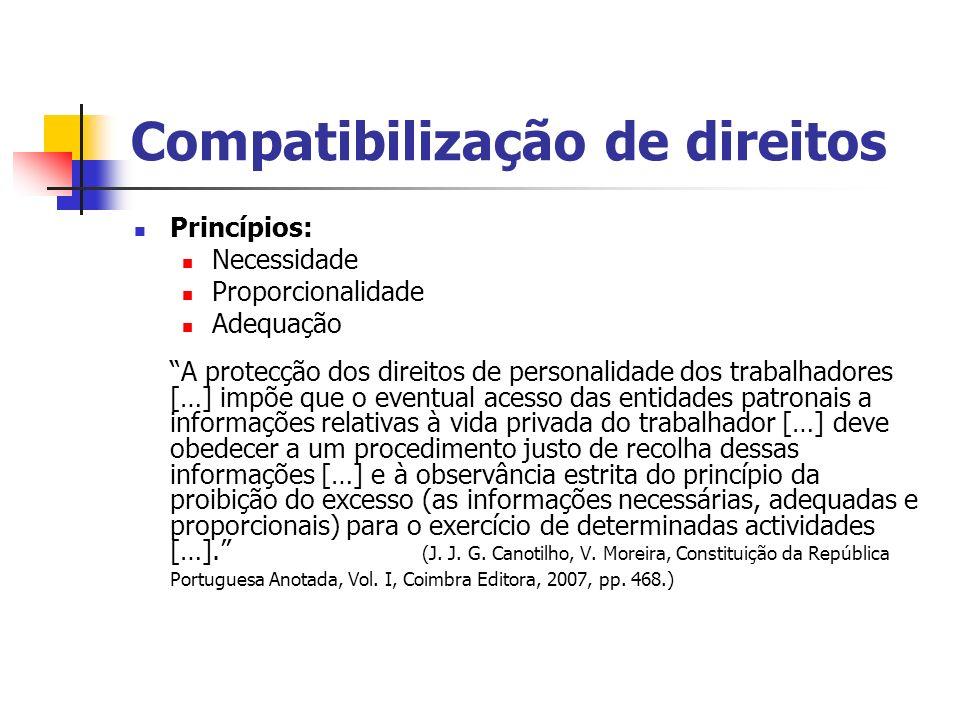 Compatibilização de direitos