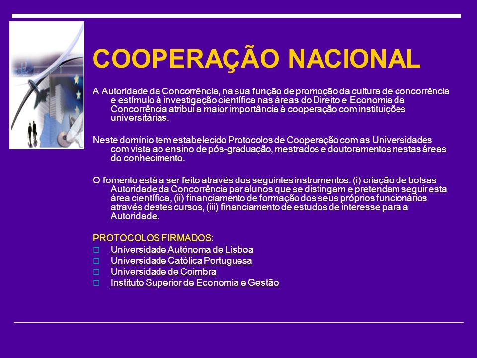 COOPERAÇÃO NACIONAL