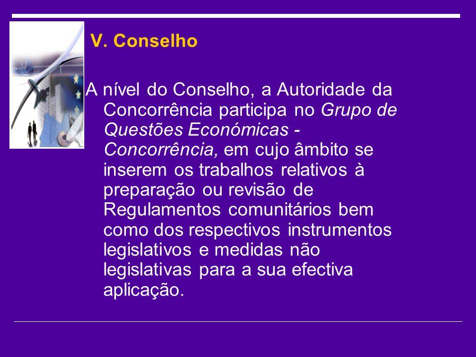 V. Conselho