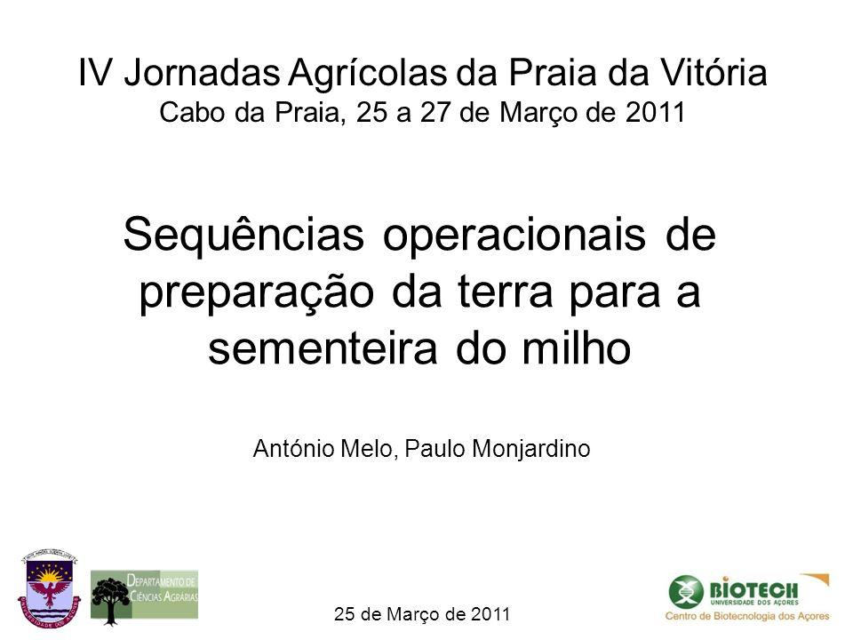 IV Jornadas Agrícolas da Praia da Vitória