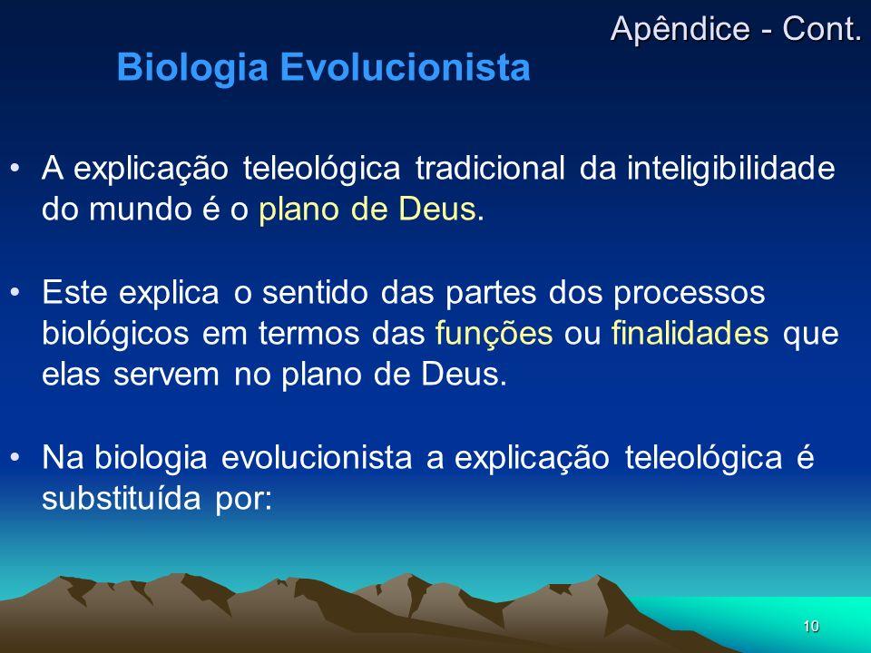 Biologia Evolucionista