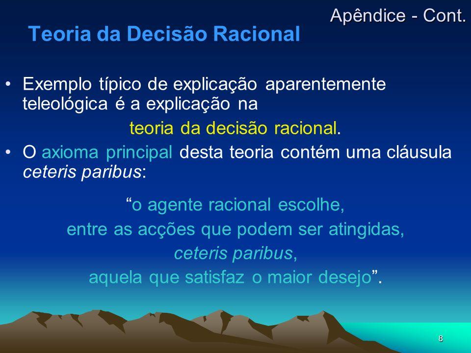 Teoria da Decisão Racional