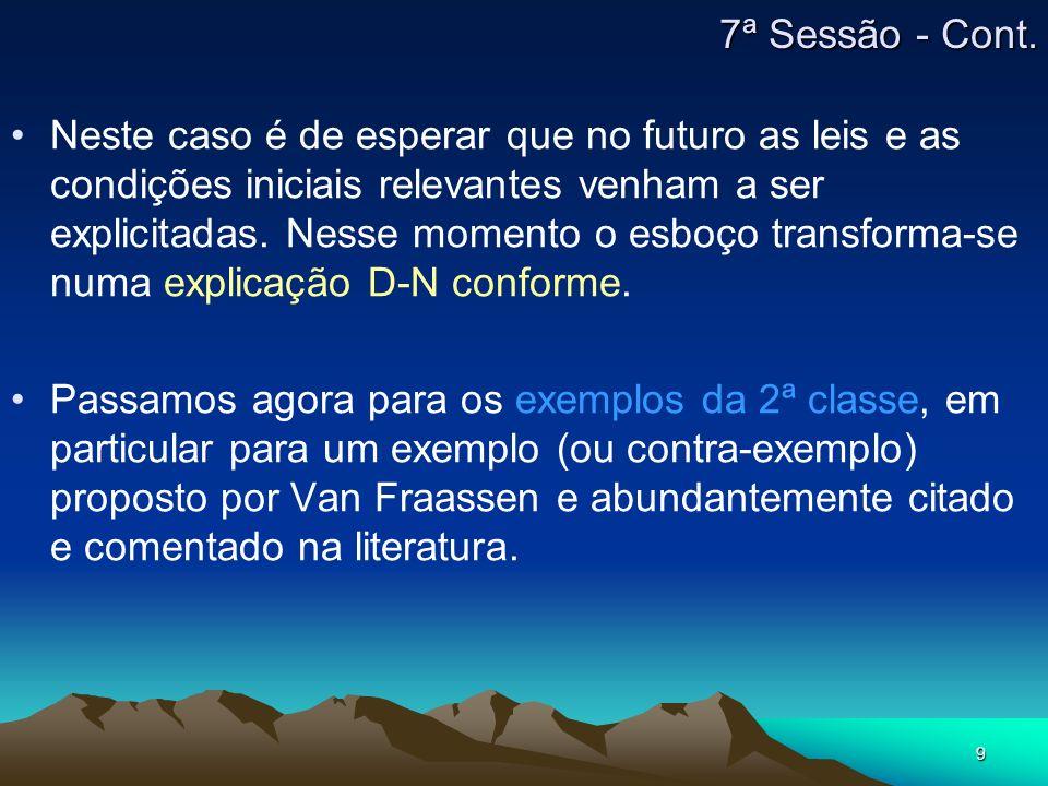 7ª Sessão - Cont.