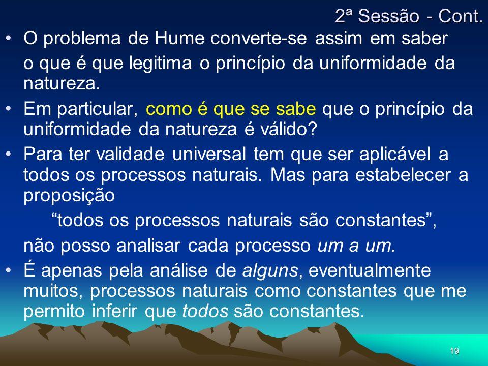 todos os processos naturais são constantes ,