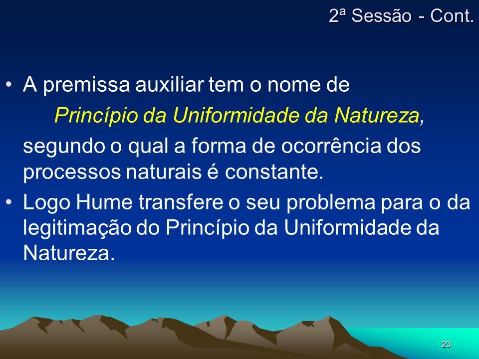 Princípio da Uniformidade da Natureza,