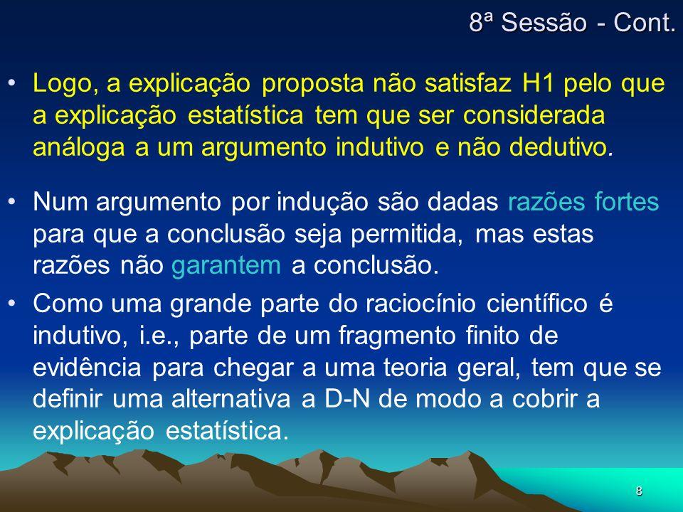8ª Sessão - Cont.
