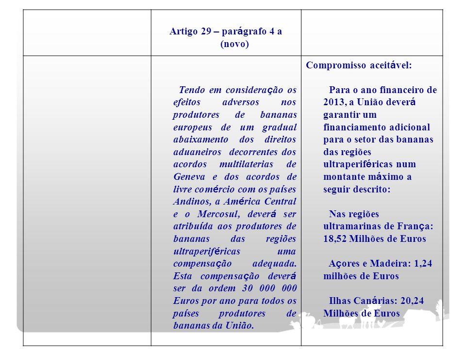 Artigo 29 – parágrafo 4 a (novo)
