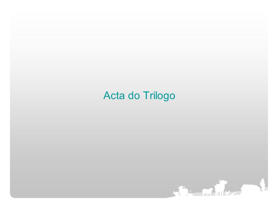 Acta do Trilogo