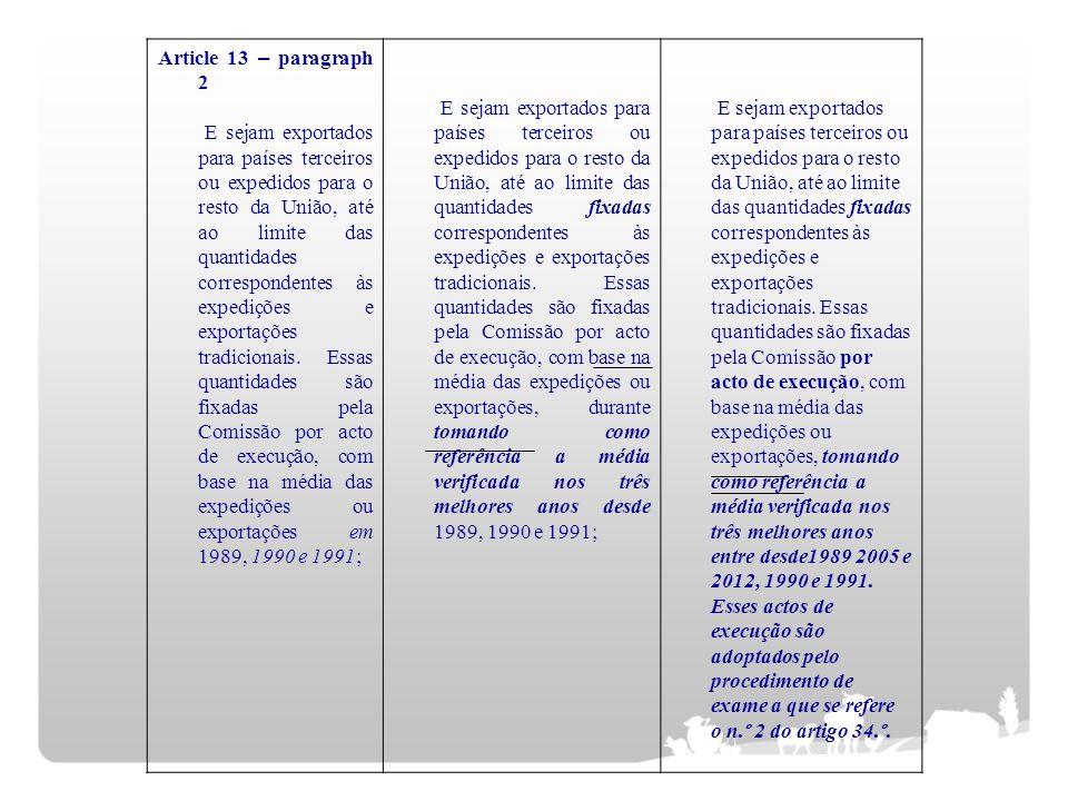 Article 13 – paragraph 2