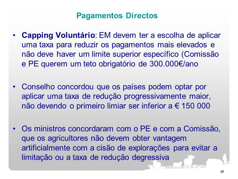 Pagamentos Directos