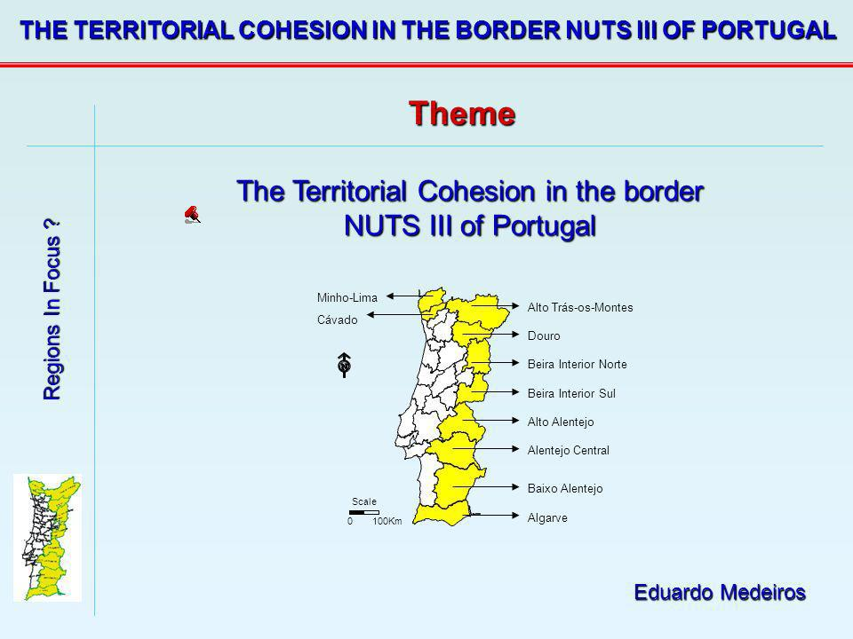 The Territorial Cohesion in the border NUTS III of Portugal
