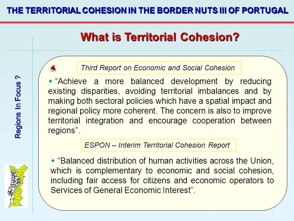 What is Territorial Cohesion
