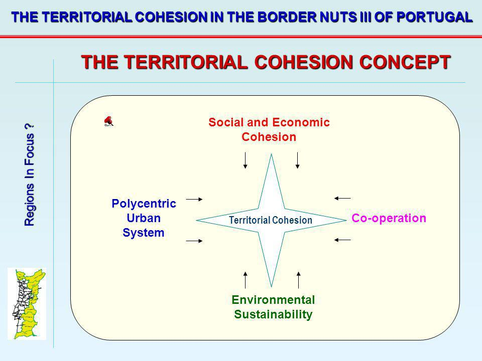 THE TERRITORIAL COHESION CONCEPT