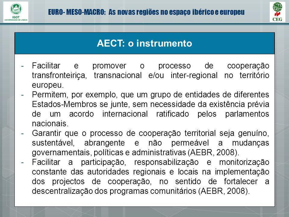 AECT: o instrumento