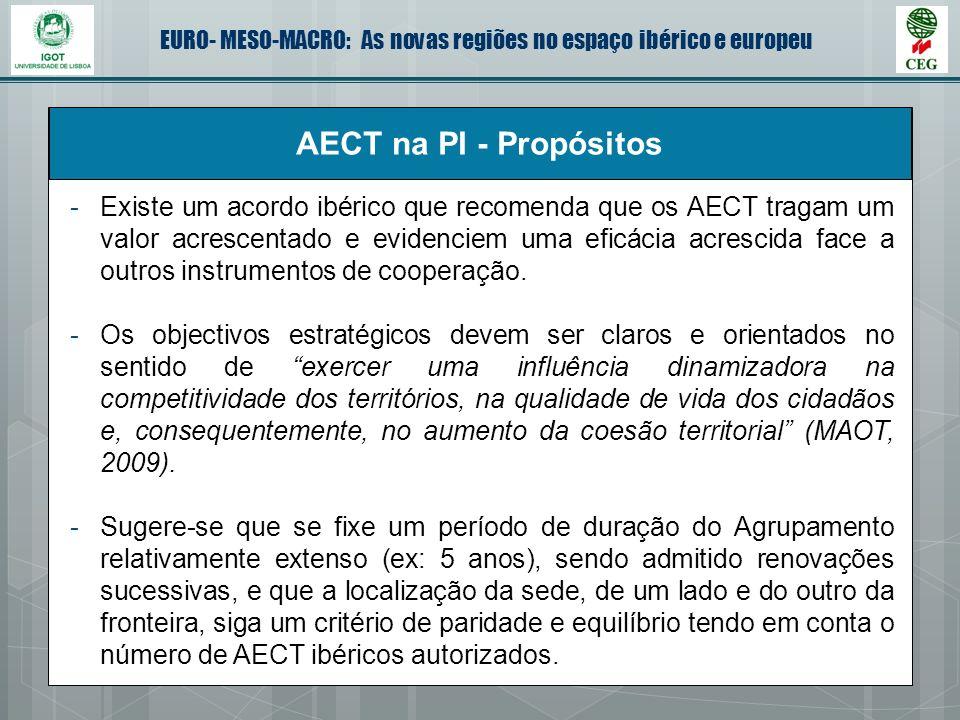 AECT na PI - Propósitos