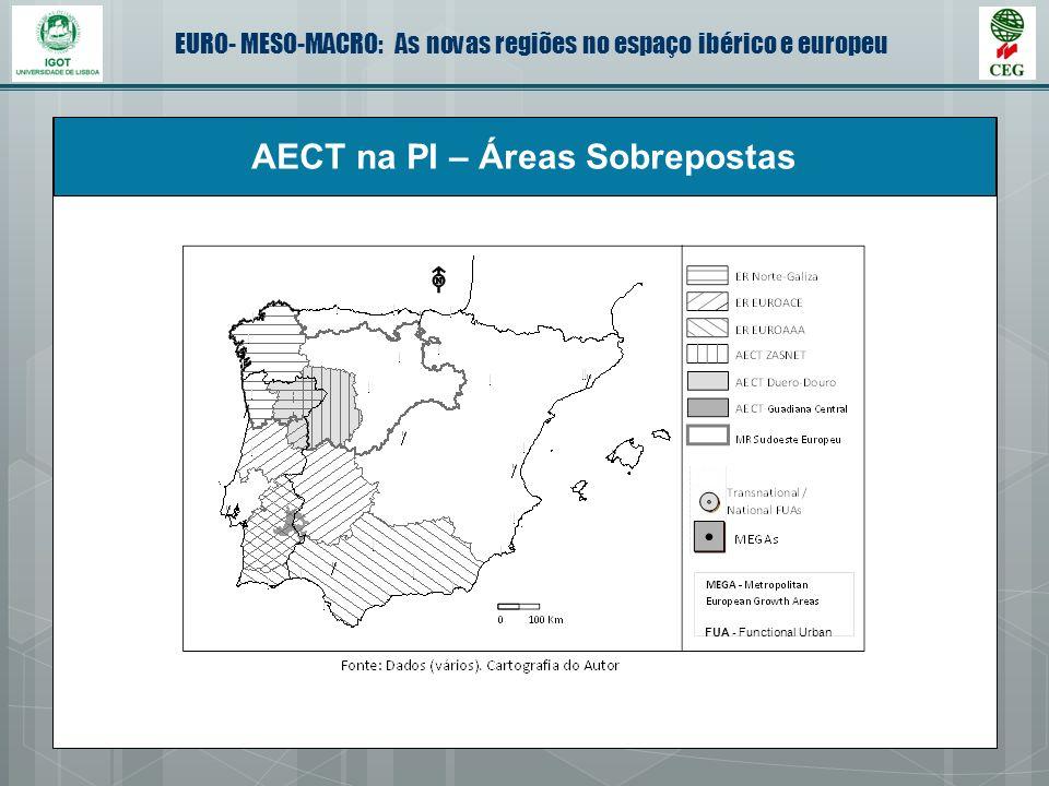 AECT na PI – Áreas Sobrepostas