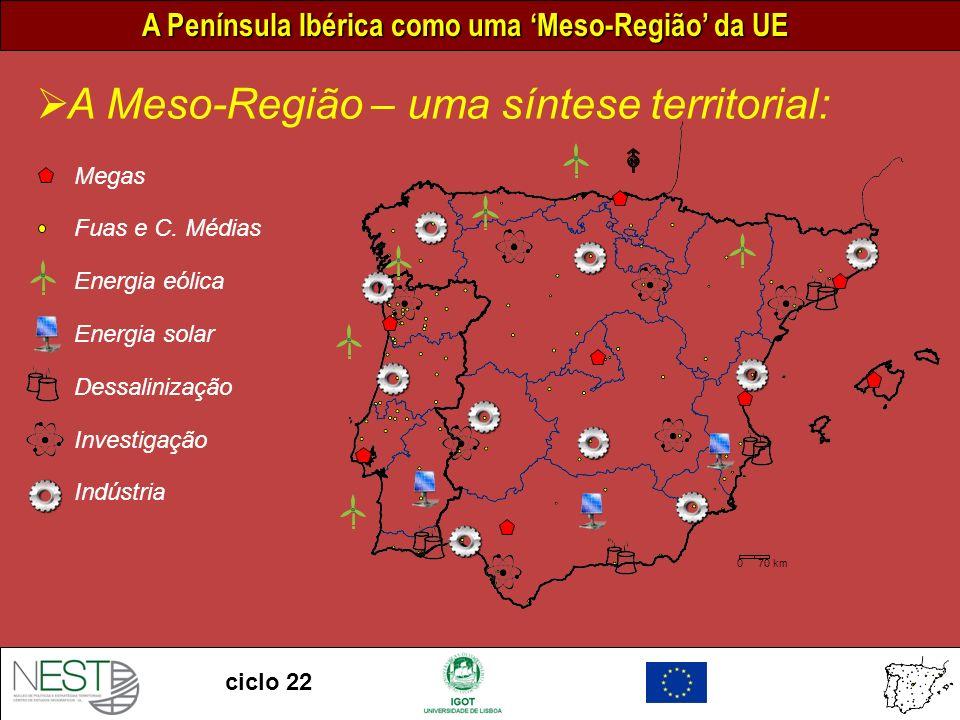 A Meso-Região – uma síntese territorial: