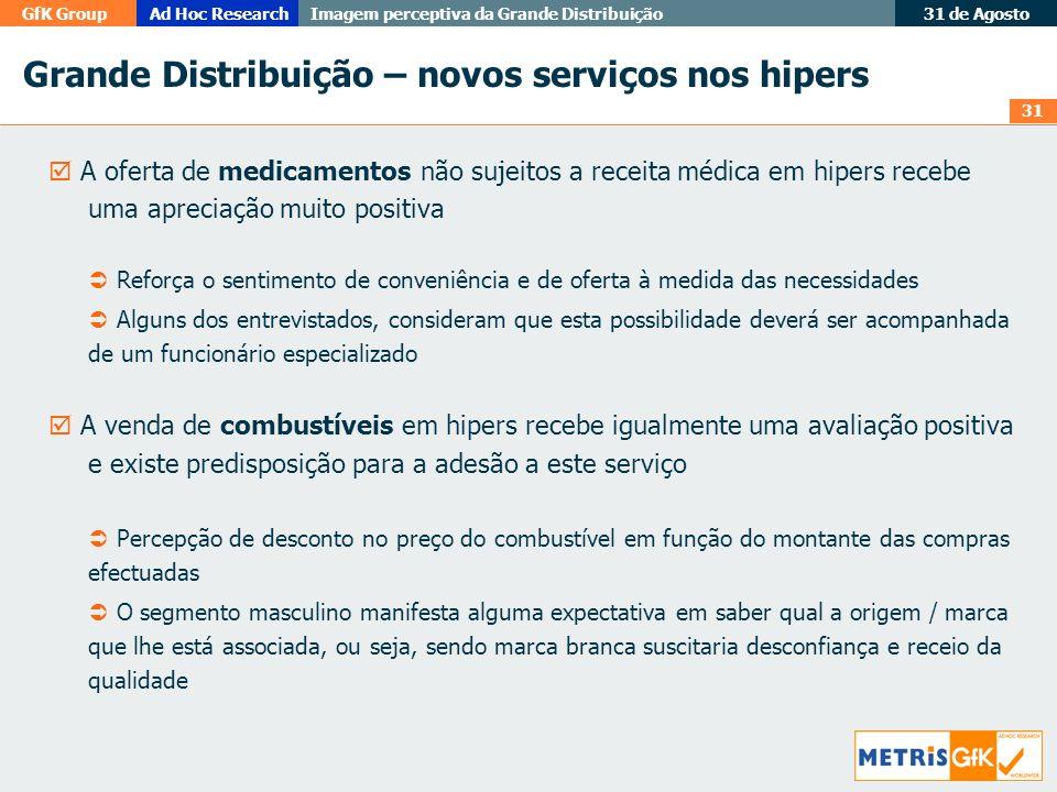 Grande Distribuição – novos serviços nos hipers