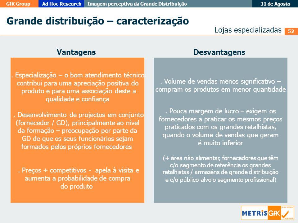 Grande distribuição – caracterização