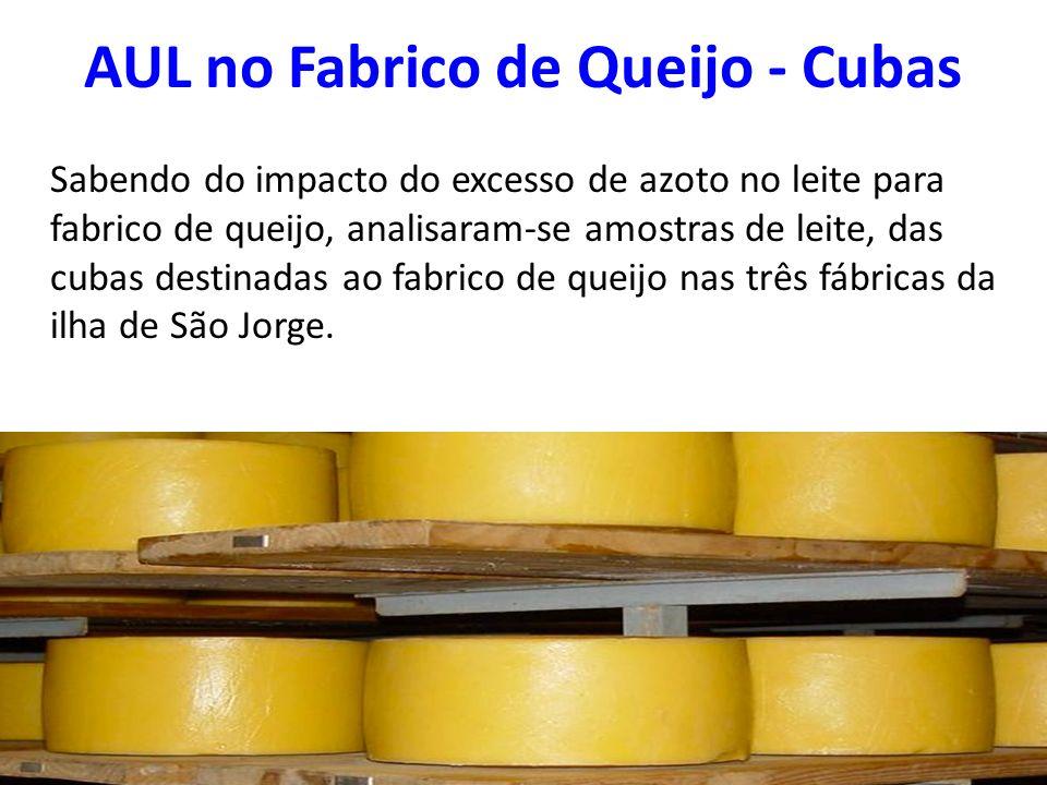 AUL no Fabrico de Queijo - Cubas