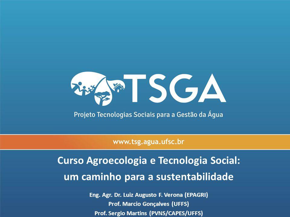 Curso Agroecologia e Tecnologia Social: