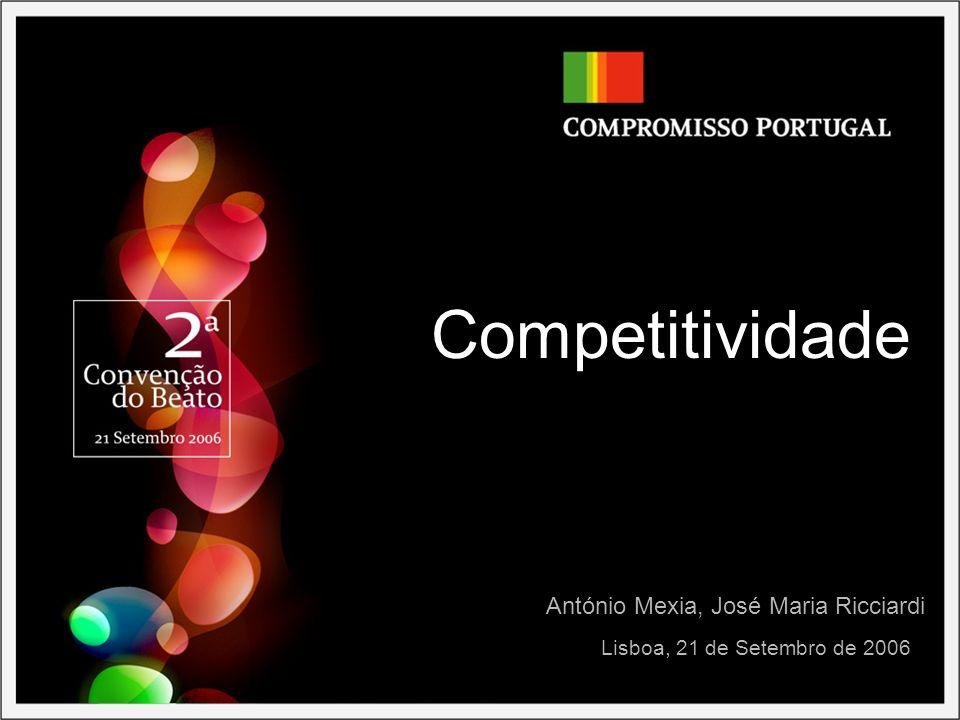 Competitividade António Mexia, José Maria Ricciardi