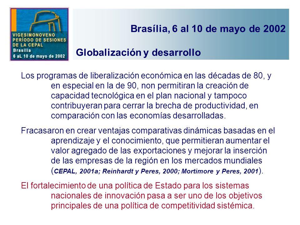Globalización y desarrollo