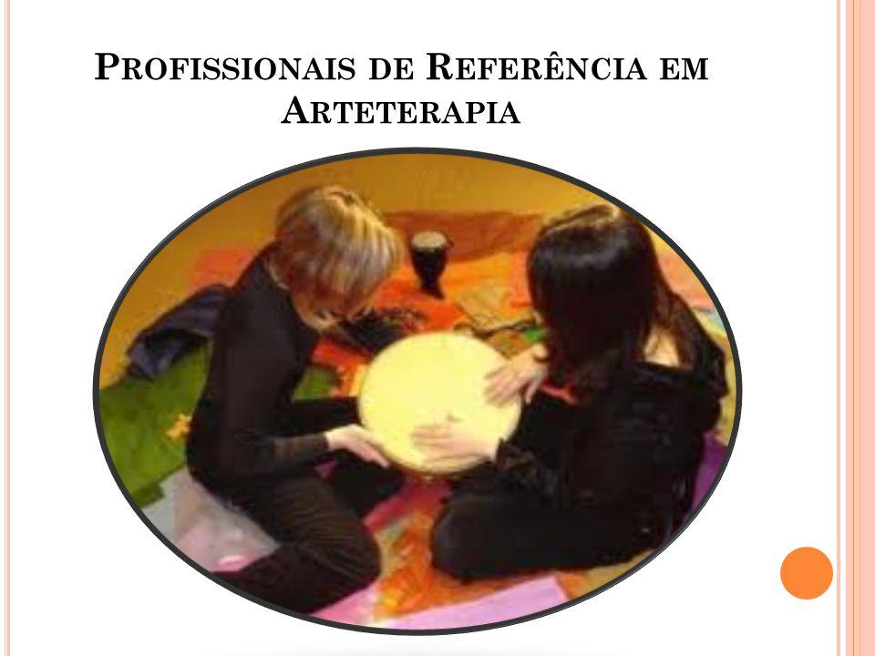 Profissionais de Referência em Arteterapia