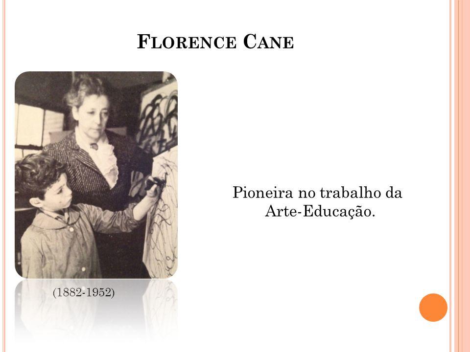 Florence Cane Pioneira no trabalho da Arte-Educação. (1882-1952)