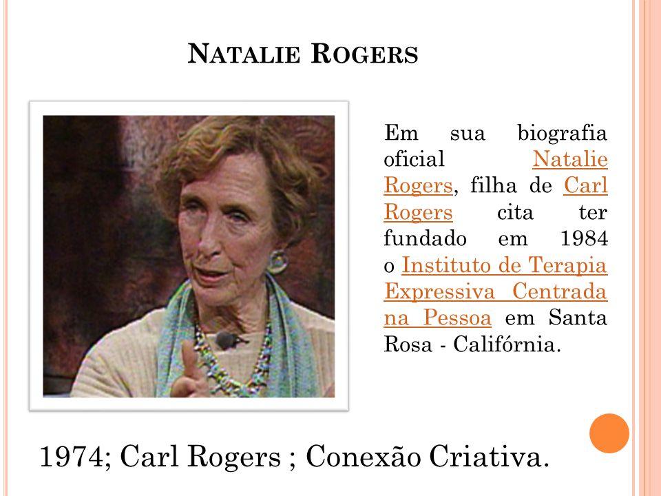 1974; Carl Rogers ; Conexão Criativa.
