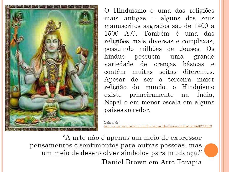 O Hinduísmo é uma das religiões mais antigas – alguns dos seus manuscritos sagrados são de 1400 a 1500 A.C. Também é uma das religiões mais diversas e complexas, possuindo milhões de deuses. Os hindus possuem uma grande variedade de crenças básicas e contêm muitas seitas diferentes. Apesar de ser a terceira maior religião do mundo, o Hinduísmo existe primeiramente na Índia, Nepal e em menor escala em alguns países ao redor.