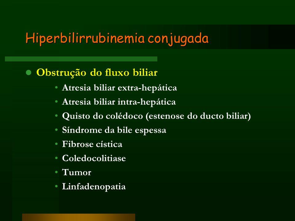 Hiperbilirrubinemia conjugada