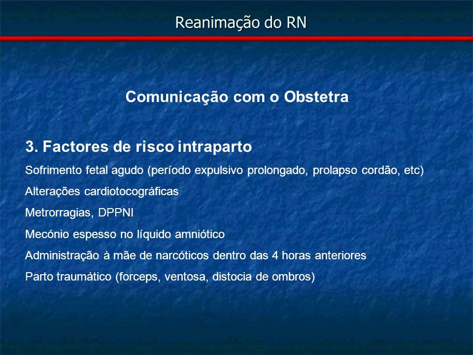 Comunicação com o Obstetra